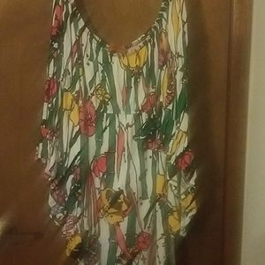 Voom by Joy Han off shoulder dress size L